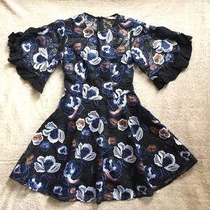 TALULAH Lace Mini Dress